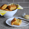 Thumbnail image for Cheddar and Chive Biscuits + Sea Salt and Maple Butter