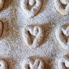 Thumbnail image for Almond Coconut Heart Cookies