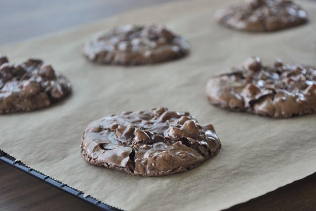 Post image for 101 Cookbooks' Chocolate Puddle Cookies