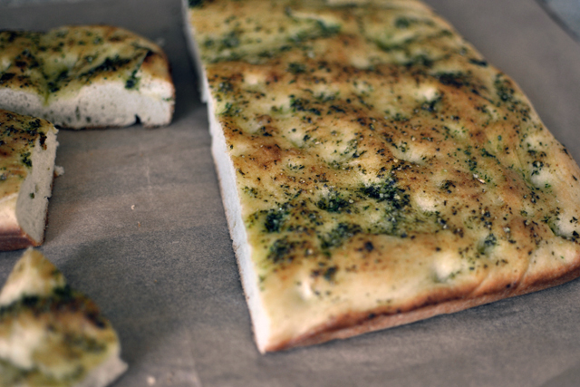 Post image for Pesto Focaccia Bread