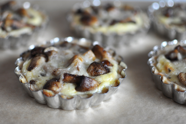 Post image for Mushroom and Shallot Mini Quiches