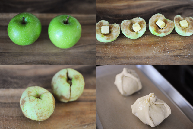 Making Apple Dumplings