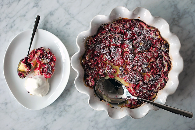 Post image for Cranberry Clafouti