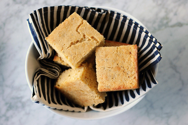 Post image for Maple and Sage Cornbread