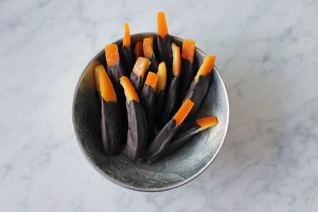 Post image for Chocolate Covered Orange Peels
