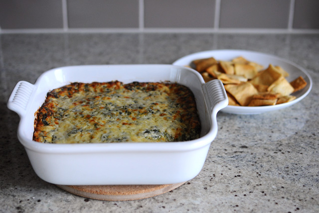 Post image for Baked Spinach and Artichoke Dip