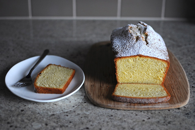 Post image for Vanilla Bean Pound Cake