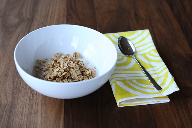 Post image for Almond Coconut Granola