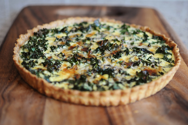 Post image for Quiche with Kale