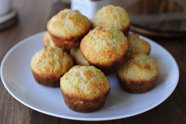 Post image for Lemon Summer Squash Muffins