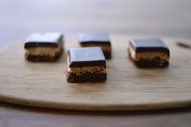 Post image for Chocolate Peanut Butter Brownie Bars