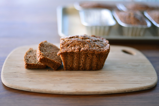 Post image for Zucchini Bread + Cooper's First Blog Appearance