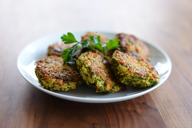 Post image for Baked Quinoa Patties