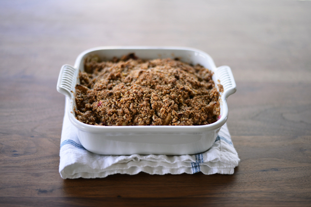 Post image for Apple Cranberry Crisp