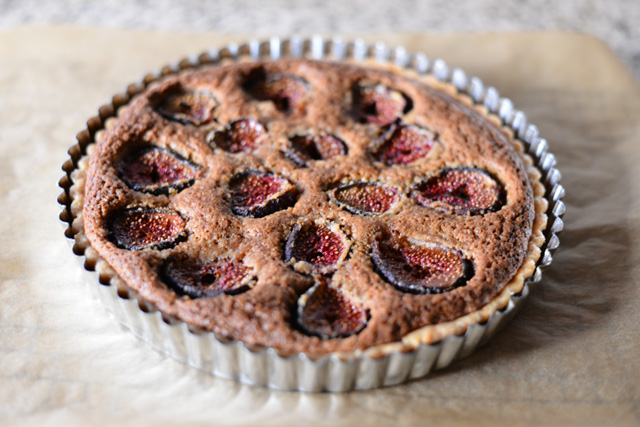 Post image for Fresh Fig Tart